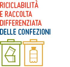 riciclabilità e raccolta differenziata delle confezioni